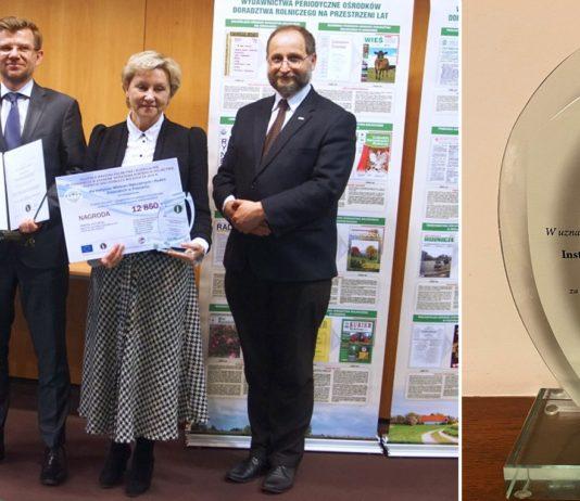 nagroda ministra rolnictwa