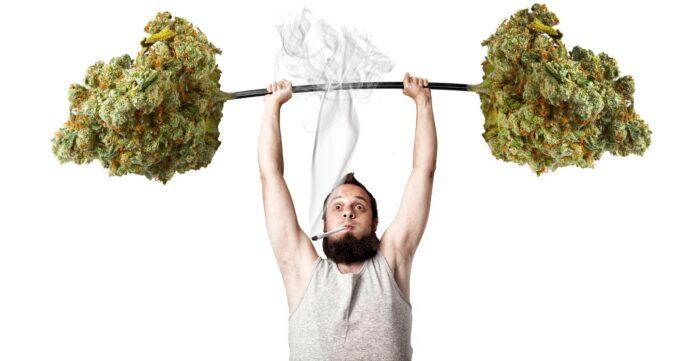 Marihuana trening siłowy