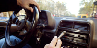 nauka jazdy marihuana