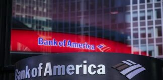 Bank of America zamyka konto